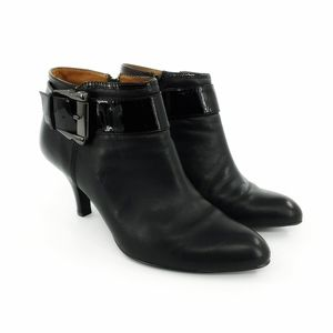 Sofft | Leather Buckled Bootie 9.5